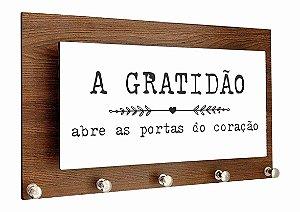 1601-015 Porta Chaves Alto Relevo - Gratidão