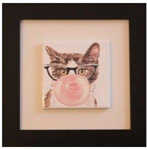 3001-001 Quadro de azulejo Decor - Gato