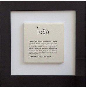 3001-009 Quadro de azulejo Decor - Signo Leão