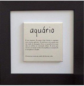 3001-013 Quadro de azulejo Decor - Signo Aquário