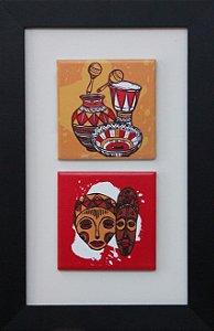 3002-006 Quadro de azulejo Decor - África