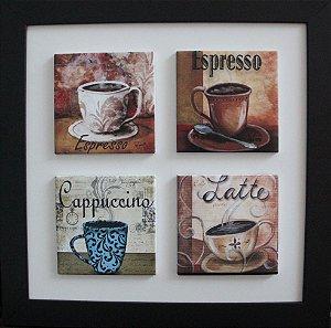 3004-004 Quadro de azulejo Decor - Café