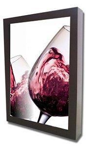 3061P-003 Quadro Rolha - Vinho tinto