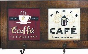 3012-002 Quadro cabideiro duplo - Café
