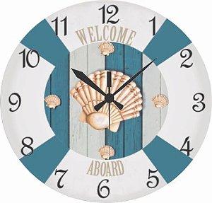 1630 Relógio Redondo - Madeira Praia