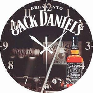 1652 Relógio Redondo - Jack Daniels