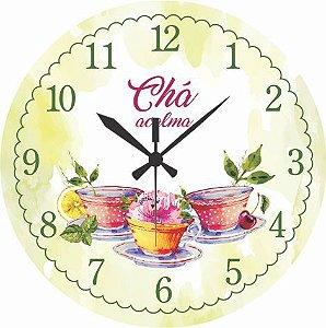 1655 Relógio Redondo - Chá
