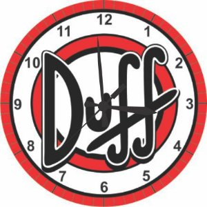 1677 Relógio Redondo - Duff