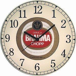 1684 Relógio Redondo - Brahma Chopp