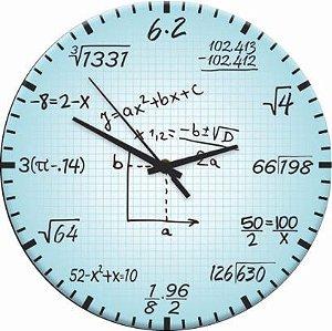 1690 Relógio Redondo - Matemática
