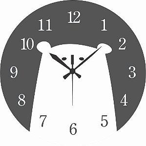 1700-025 Relógio Redondo - Urso
