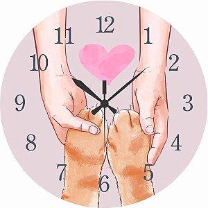 1700-026 Relógio Redondo - Patinhas