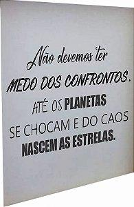 3066A-001 Placa motivacional - Planetas