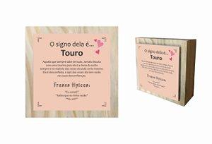 07-04-C002 Cubo Decor Cru - Touro