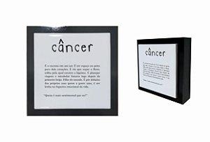 07-04-P004 Cubo Decor Preto - Câncer