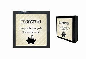 07-04-P030 Cubo Decor Preto - Economia