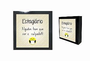 07-04-P034 Cubo Decor Preto - Estagiário