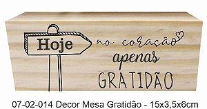 07-02-014 Decor Taquinho - Gratidão