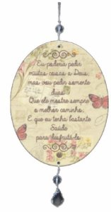 1980-018  Móbile Oval - Menina cadeira