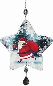 1951 Móbile Natal Estrela - Verde e branco
