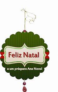 1955-001 Móbile Natal Bola - Presentes