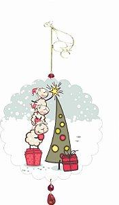 1955-002 Móbile Natal Bola - Ovelhas