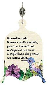 1940-003 Móbile Gaiola - Amor é como passarinho
