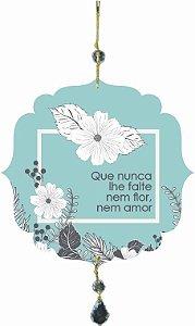 1759-B005 Móbile Bola - Flores