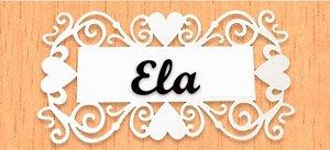 14-03-PELA Placa Coração - Ela