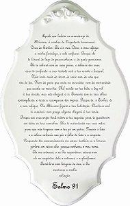 14-41-P Placa Oração - Salmo 91