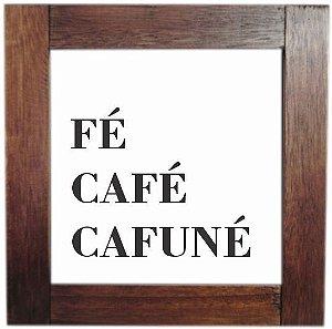 3094AP-008 Quadro de azulejo - Cafuné
