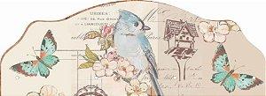 1401  Porta Chaves - Pássaro Azul
