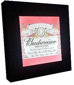 3070-002SF Quadro luminoso  sem fio- Budweiser