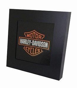 3070-011SF Quadro luminoso sem fio - Harley Davidson