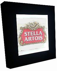 3070-025SF Quadro luminoso sem fio - Stella madeira