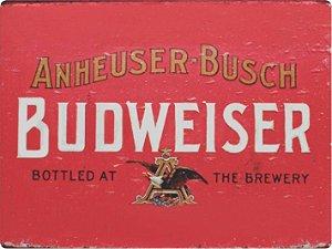 1234 Placa de Metal - Budweiser