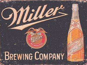 1251 Placa de Metal - Miller