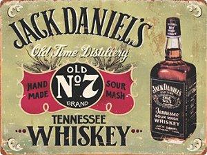 1298 Placa de Metal - Jack Daniels