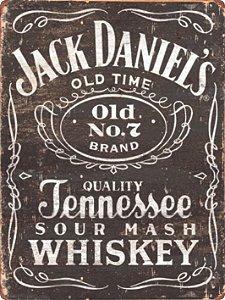 1300 Placa de Metal - Jack Daniels Madeira