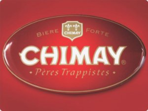 1311 Placa de Metal - Chimay logo
