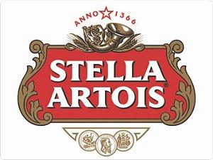 1341 Placa de Metal - Stella Artois