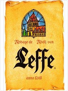 1388 Placa de Metal - Leffe