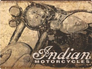 1394 Placa de Metal - Indian Motorcycles