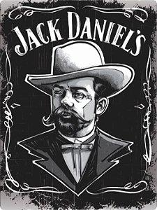 3413 Placa de Metal - Jack Daniels man
