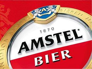 3583 Placa de Metal - Amstel bier