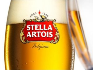 3587 Placa de Metal - Stella Artois Belgium