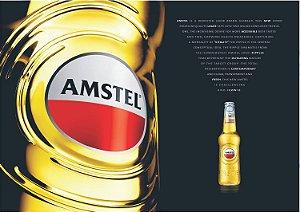 3592 Placa de Metal - Amstel rótulo
