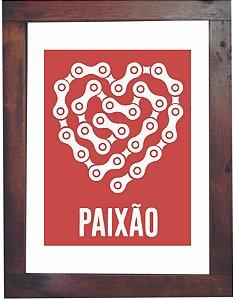 3093PG-008 Quadro Poster - Paixão