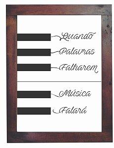 3093PG-018 Quadro Poster - Música