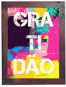 3093PG-019 Quadro Poster - Gratidão